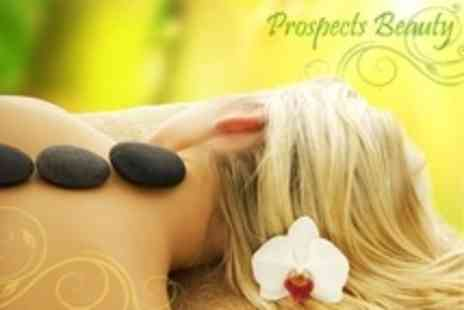 Prospects Beauty - Choice of 60 Minute Massage Plus Facial - Save 57%