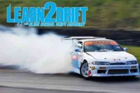 Slide School Drift Academy - Slide School Drift Academy Four Hours of Learning How to Drift  or Three Passenger Laps - Save 57%