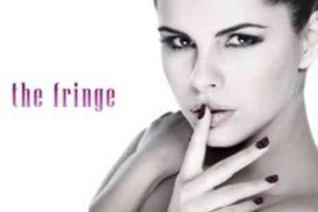 The Fringe - Manicure and Pedicure - Save 53%