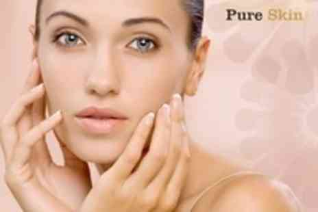Pure Skin - Facials One  or Three Sessions Plus Skin Analysis - Save 60%