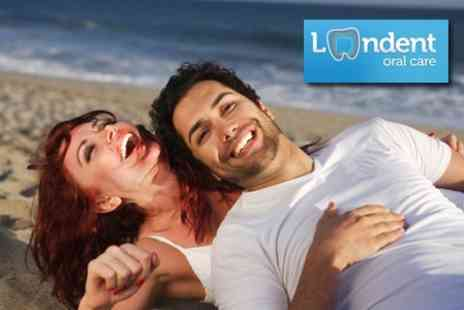 Londent Oral Care - Laser Teeth Whitening Plus Clean, Polish and Dental Examination - Save 70%