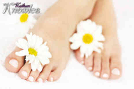 Nathan Knowles - 90 minute luxury manicure and pedicure - Save 56%