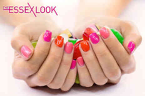 The Essex Look - Full manicure and pedicure with Gelac overlays - Save 75%