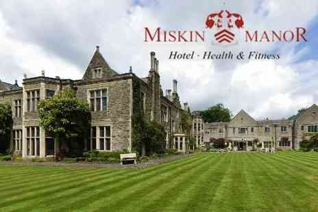 Miskin Manor Country Hotel and Health Club - One Night Country Getaway For Two With Breakfast and Bottle of Wine - Save 61%