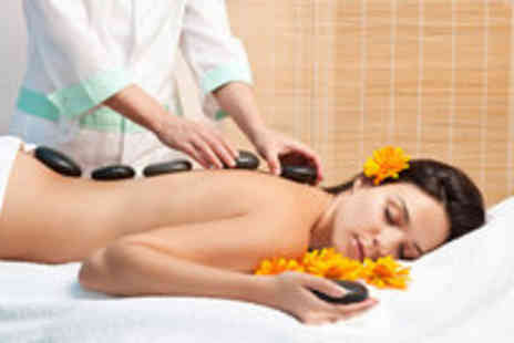 Simply Holistics with Yvonne - One hour hot stone or aromatherapy massage plus a 30-minute quench facial - Save 74%