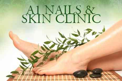 A1 Nail and Skin Clinic - Luxury Foot Spa Treatment With Massage and Nail Paint - Save 60%