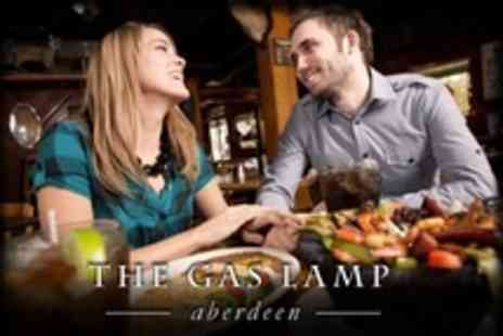 The Gas Lamp - Fajita Meal For Two With Cocktail Each and Chilli Nachos - Save 66%