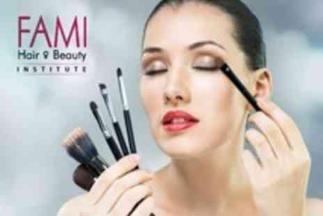 Fami Hair and Beauty Institute - Accredited Make Up and Bridal Make Up Two Day Course - Save 50%