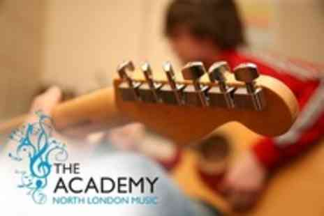 The North London Music Academy - Eight Guitar or Singing Lessons - Save 21%