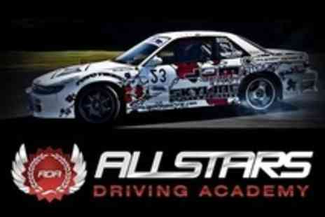 Allstars Driving Academy - Two Hour Introduction to Drifting - Save 65%