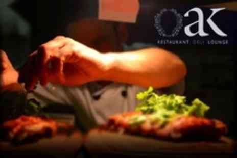 Oak Newcastle - Two Course Gastro Pub Meal For Two - Save 15%