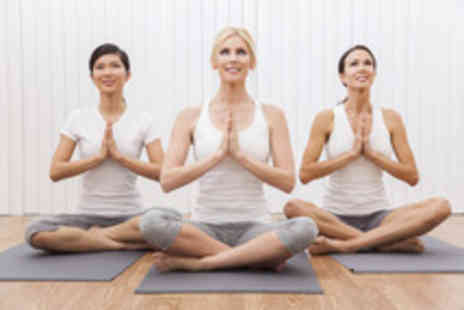 Optimum Health Centres - A course of five 1 hour Sun Power yoga classes - Save 60%
