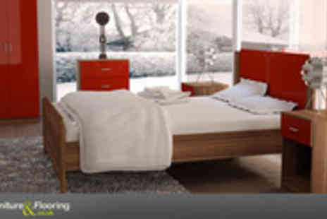 Furniture and Flooring - Bedroom into a masterpiece with this stunning three piece set - Save 71%
