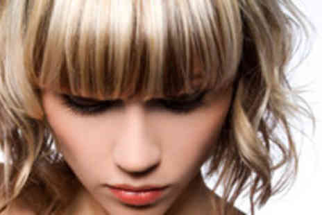 Lisa Hair Design - Full Head of Colour or Half Head of Foil Highlights with Moroccan Oil Treatment - Save 53%