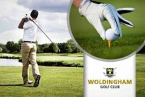 Woldingham Golf Club - Full Days Golf For Two Plus 60 Range Balls Each - Save 70%