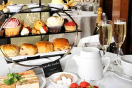 Number Twelve - Afternoon tea for Two and Prosecco and strawberries - Save 50%