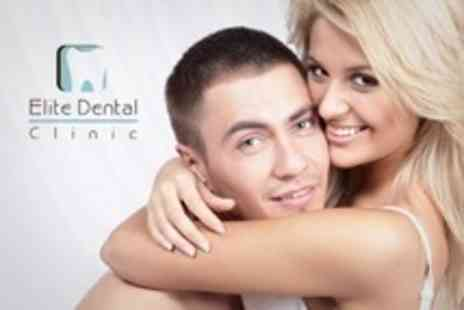 Elite Dental Clinic - Full Dental Examination With Ultrasonic Scale and Polish - Save 79%