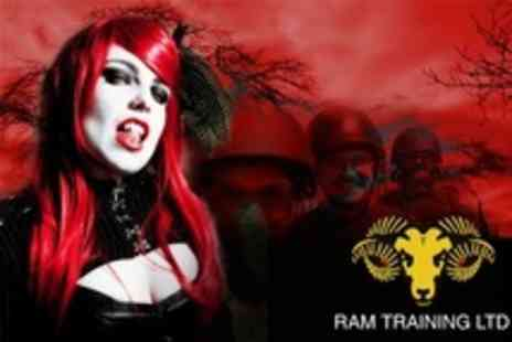 Ram Training - Vampire Hunting With Combat Arsenal and Attire - Save 51%