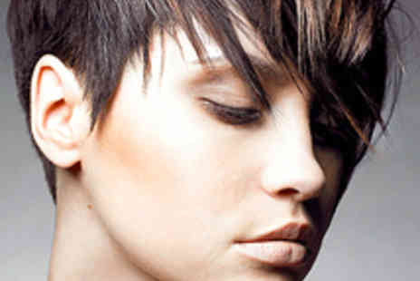 Barberettes Salon - Haircut with Half Head of Highlights - Save 55%