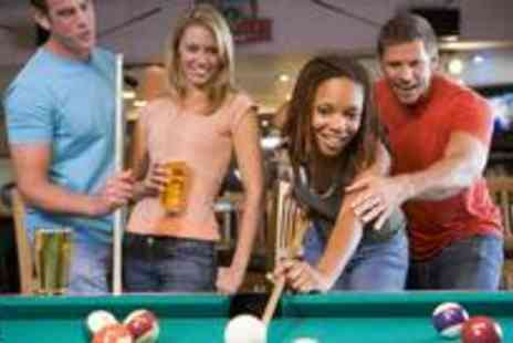 Spots and Stripes - Great pool package for two including three hours of pool four pints and silver membership each - Save 77%