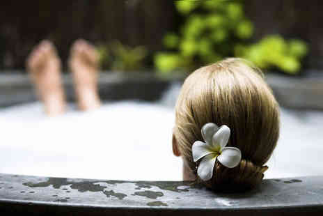 Pure Synergie - Spa day package 60 minute Tranquility massage plus full use of the pool, sauna, steam room, jacuzzi and classes - Save 64%