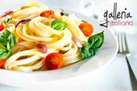 Galleria Italiana - Two Course Italian Meal For Two - Save 58%