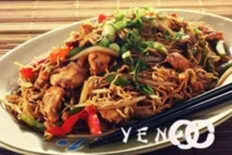 Yen Teppanyaki - Two Course Pan Asian Meal With Wine For Two - Save 60%