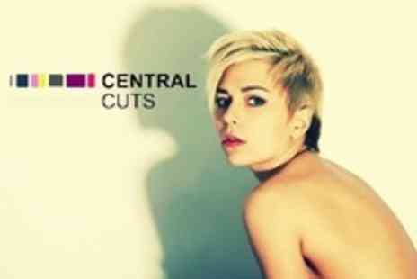 Central Cuts - Cut and Blow Dry With Conditioning Treatment - Save 60%