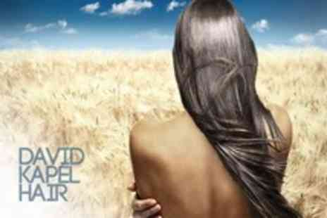 David Kapel Hair - Haircut and Choice of Straightening Treatment - Save 68%