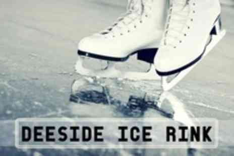 Deeside Ice Rink - Six Ice Skating Week Course Plus Rink Access For One - Save 60%