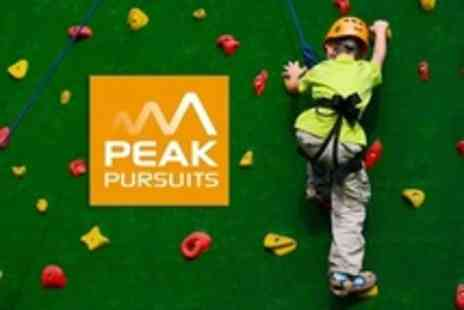 Peak Pursuits - Indoor Climbing Session For Two Juniors - Save 60%