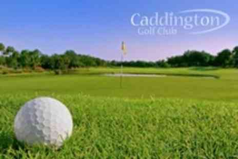 Caddington Golf Club - Round For Two Golf With Bacon Roll Each During Midweek - Save 65%