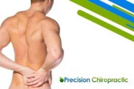 Precision Chiropractic - Two Chiropractic Treatments Plus Consultation and Full Spinal Assessment - Save 87%