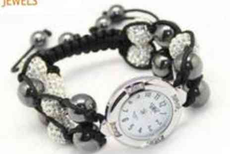 Antwerp Jewels - Shamballa Bracelet Watch - Save 82%