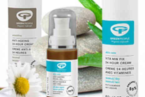 Green People - Spend on Organic Skin Care Products - Save 57%