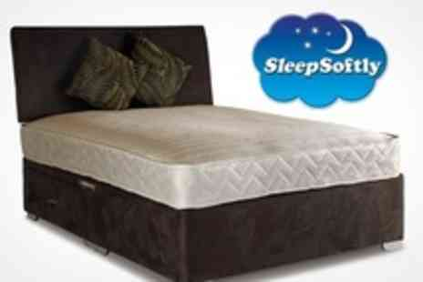 Sleep Softly - 1000 Pocket Spring Mattress: Single, Double, King or Super King Size - Save 76%