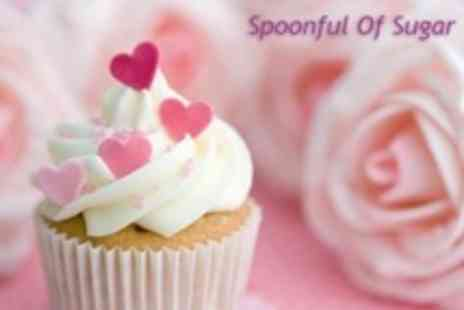 Spoonful Of Sugar - Themed Cupcake Decorating Class - Save 17%