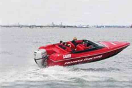 Saber Powersports - RR Powerboat Taster Session - Save 71%