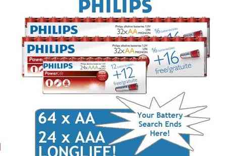 Philips - 88 Powerlife Battery Pack - Save 65%