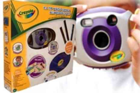 Digital Camera - Get crafty with this Digital Camera and Scrapbooking Kit - Save 35%