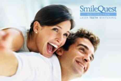 Smile Quest - Laser Teeth Whitening For One - Save 76%