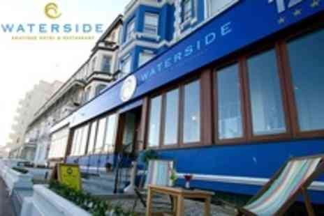 Waterside Boutique Hotel - One  Night Stay For Two With Breakfast and Prosecco - Save 55%