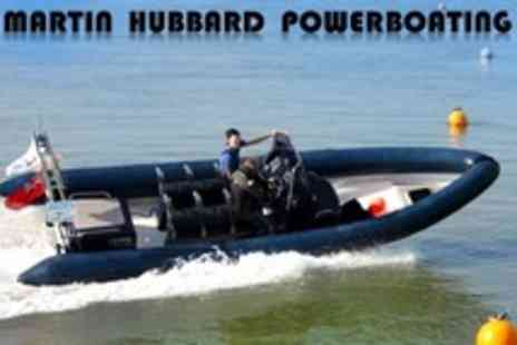 Martin Hubbard Powerboating - Full Day Martin Hubbard Powerboating - Save 52%