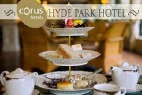 Corus Hotel Hyde Park - Champagne Afternoon Tea For Two - Save 55%