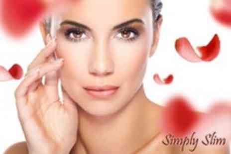 Simply Slim - One Galvanic Facial Treatments - Save 69%