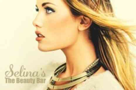 Selinas The Beauty Bar - Full Head Highlights With Cut and Blow Dry - Save 63%