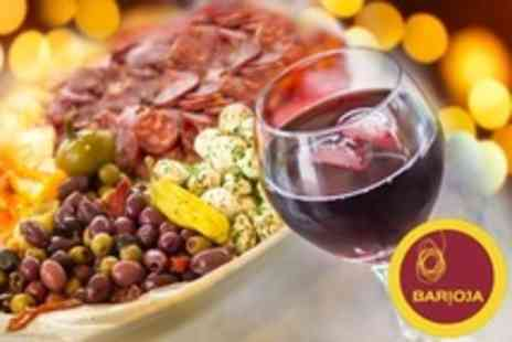 Barioja - Spanish Tapas Lunch For Two With Wine - Save 58%