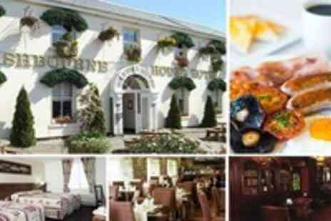 Ashbourne House Hotel - 1 Nights B&B for 2 - Save 58%