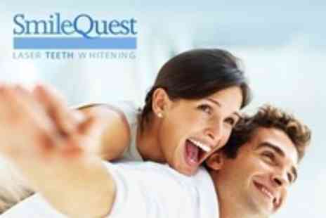 Smile Quest - Teeth Whitening For One - Save 71%