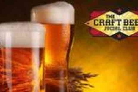 The Craft Beer Social Club - Appreciation extravaganza for two - Save 67%